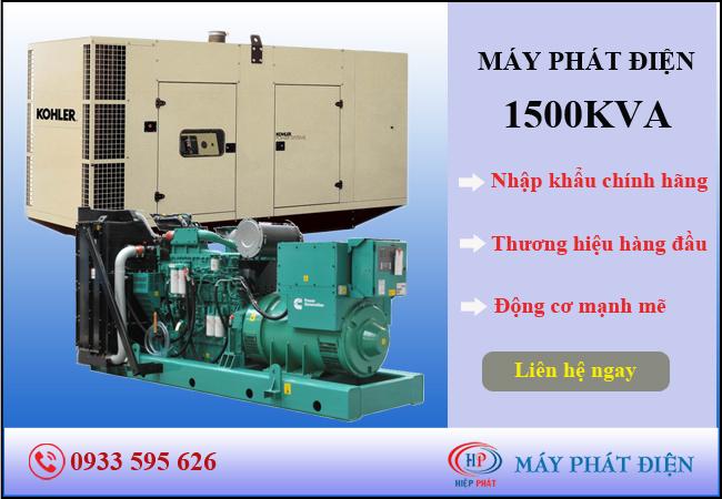 Máy phát điện 1500kva