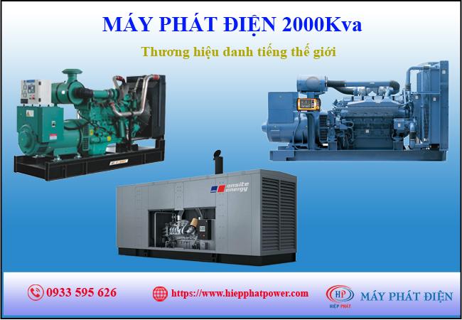 Máy phát điện 2000Kva