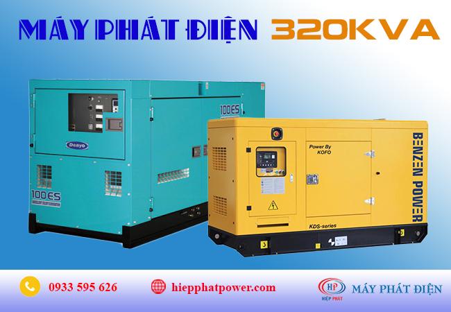 Máy phát điện 320Kva
