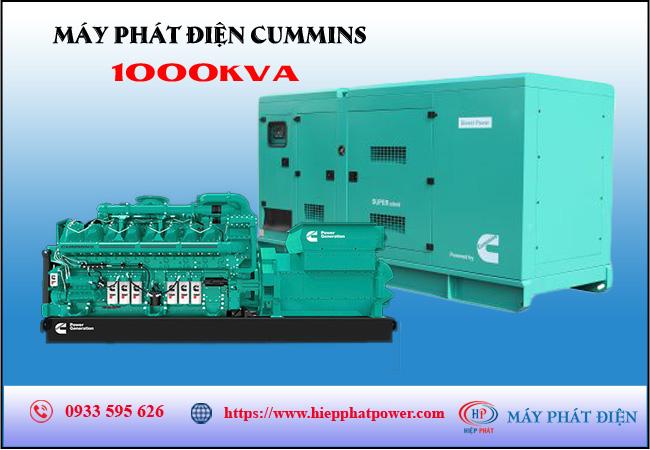 Máy phát điện Cummins 1000kva
