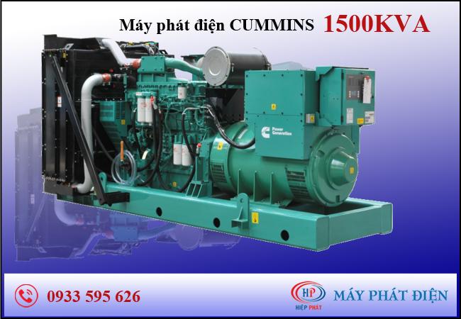 Máy phát điện Cummins 1500kva