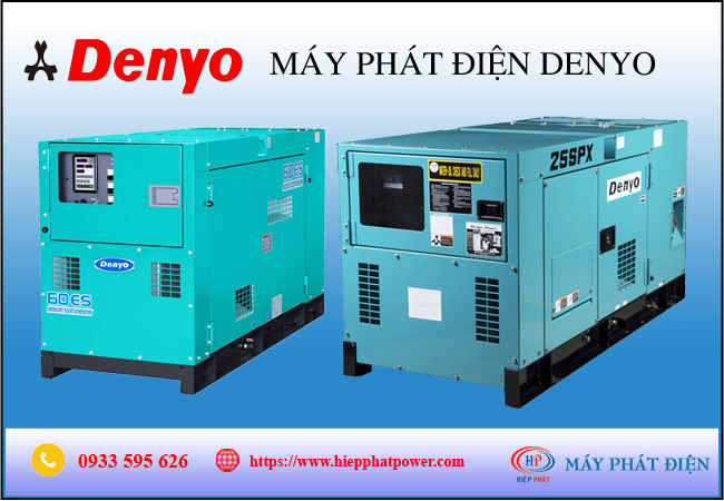 Máy phát điện Denyo