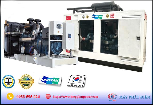 Máy phát điện Doosan 100Kva