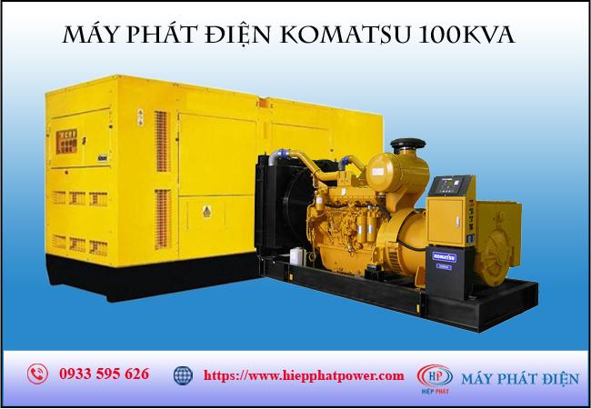Máy phát điện Komatsu 100kva