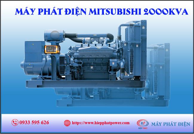Máy phát điện mitsubishi 2000kva