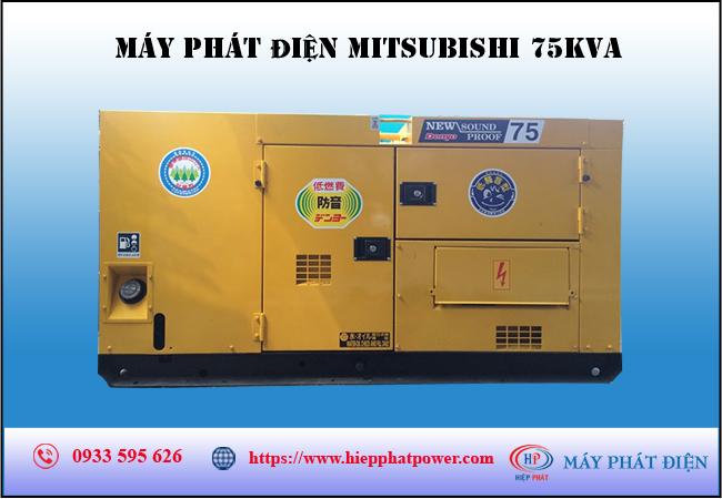 Máy phát điện Mitsubishi 75kva