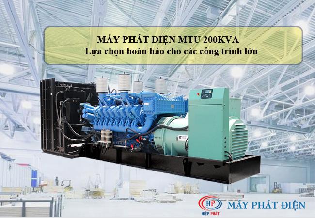 Máy phát điện MTU 2000kva