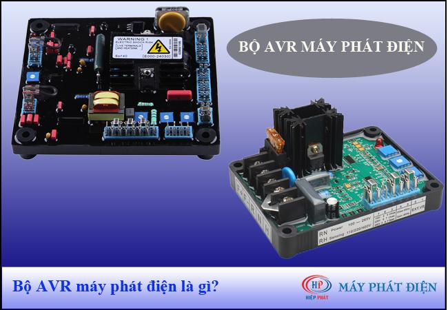 Bộ AVR trong máy phát điện là gì?