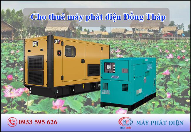 Cho thuê máy phát điện Đồng Tháp