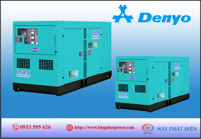 Máy phát điện Denyo 130kva