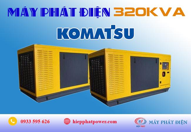 Máy phát điện Komatsu 320kva