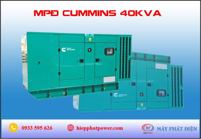 Máy phát điện cummins 40kva