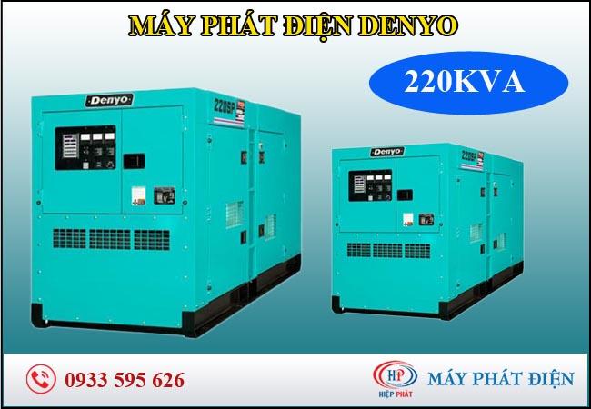 Máy phát điện Denyo 220kva
