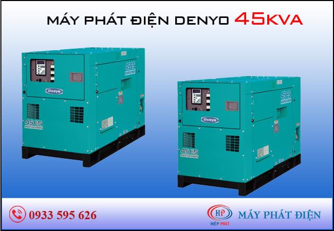 Máy phát điện Denyo 45kva