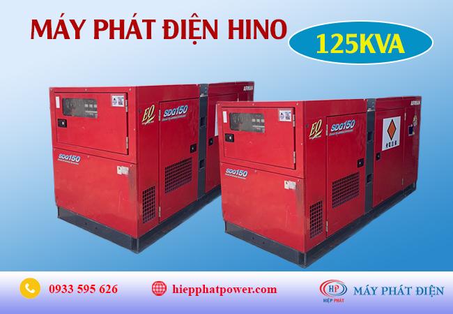 Máy phát điện Hino 125Kva