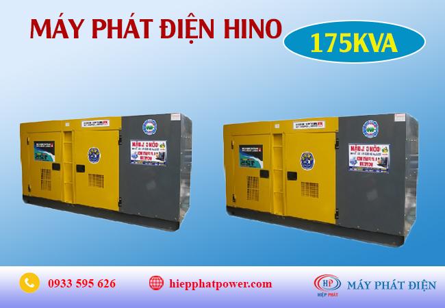 Máy phát điện Hino 175Kva