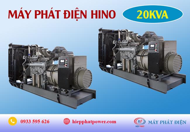 Máy phát điện Hino 20Kva