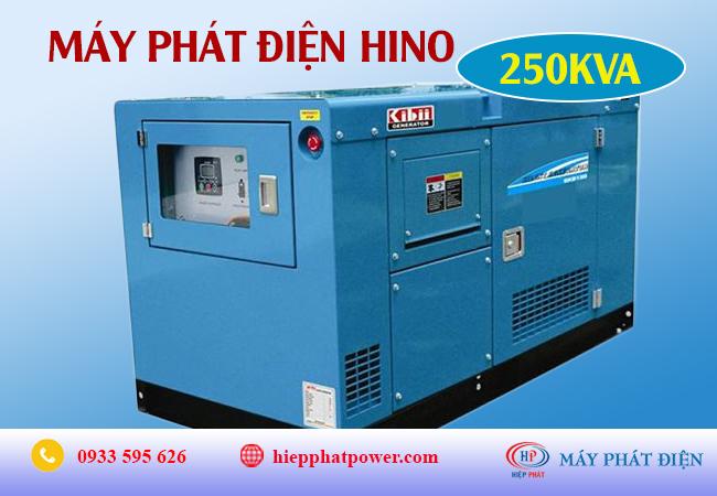 Máy phát điện Hino 250Kva