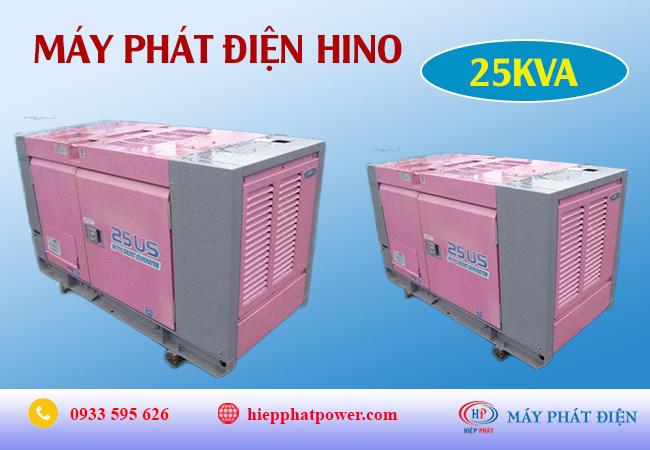 Máy phát điện Hino 25Kva