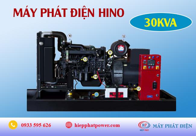 Máy phát điện Hino 30Kva
