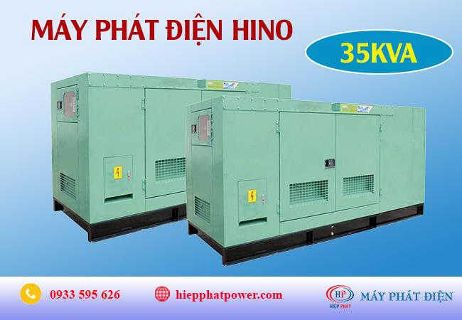 Máy phát điện Hino 35Kva