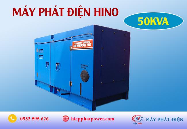 Máy phát điện Hino 50Kva