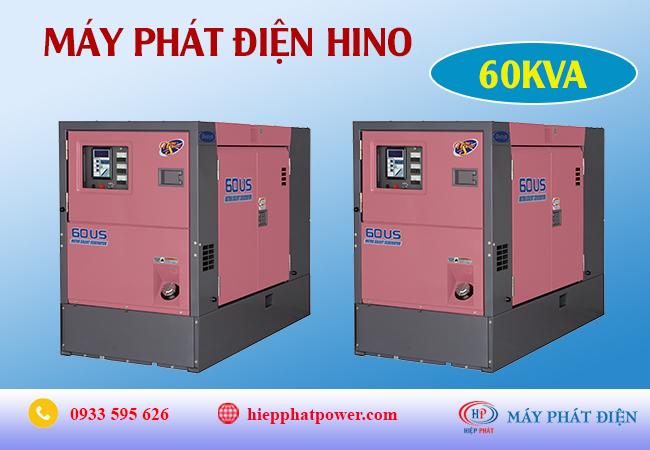 Máy phát điện Hino 60Kva