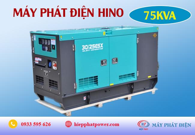 Máy phát điện Hino 75Kva