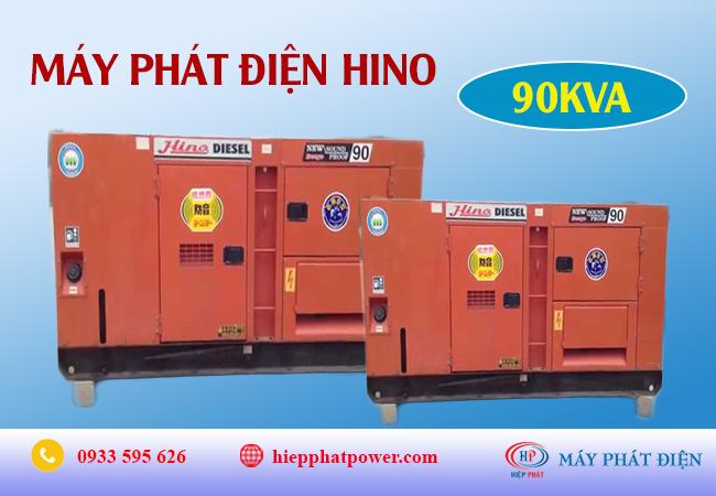 Máy phát điện Hino 90Kva