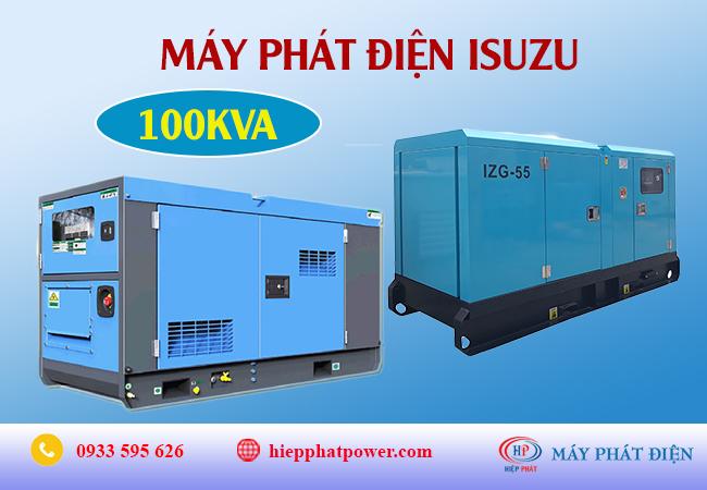 Máy phát điện Isuzu 100kva