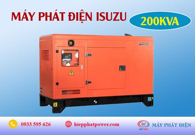 Máy phát điện Isuzu 200Kva