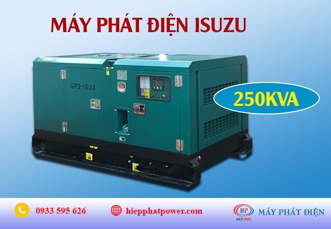 Máy phát điện Isuzu 250Kva