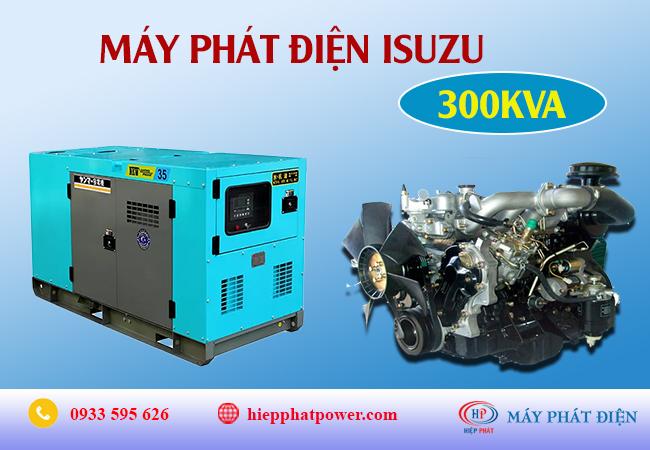Máy phát điện Isuzu 300Kva