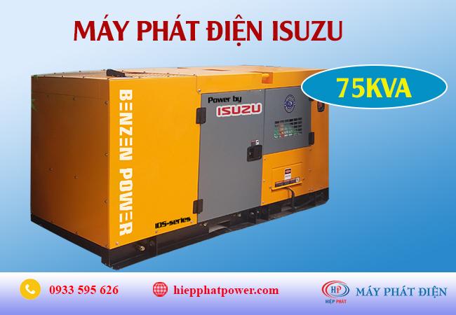 Máy phát điện Isuzu 75kva