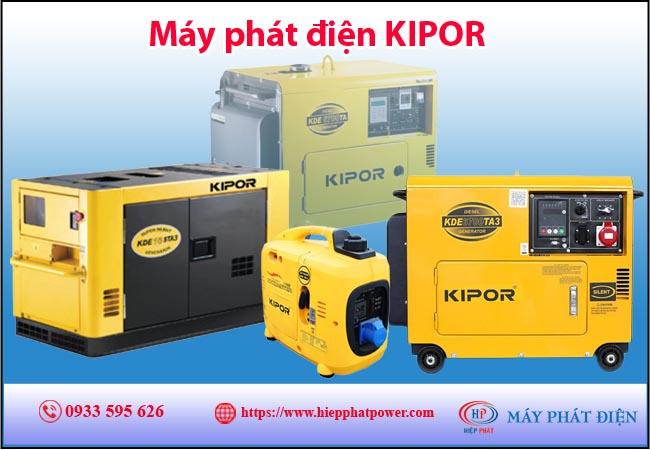 Máy phát điện Kipor
