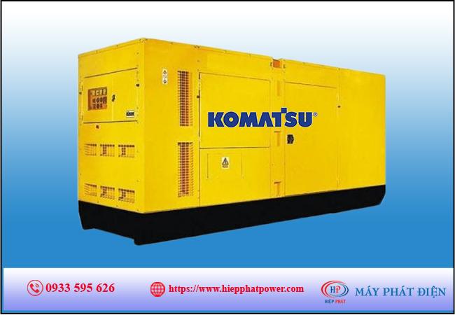 Máy phát điện Komatsu 150kva