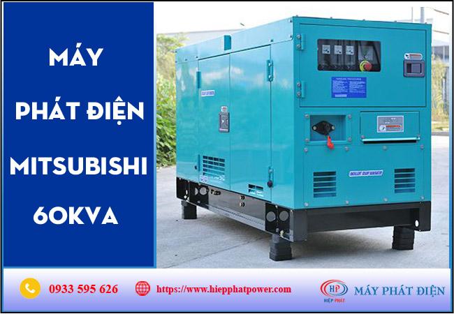 Máy phát điện Mitsubishi 60kva