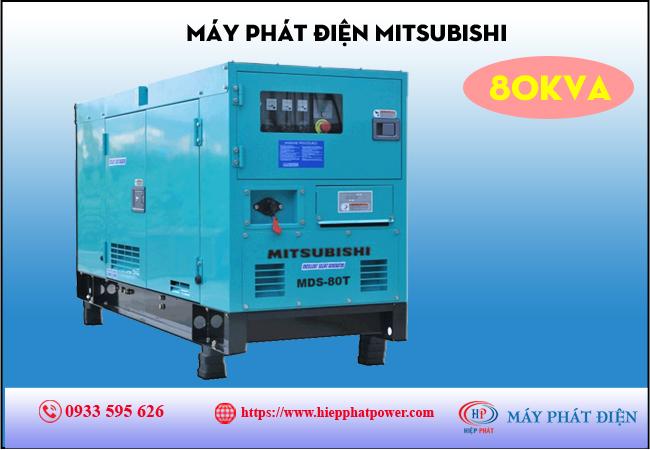 Máy phát điện Mitsubishi 80kva