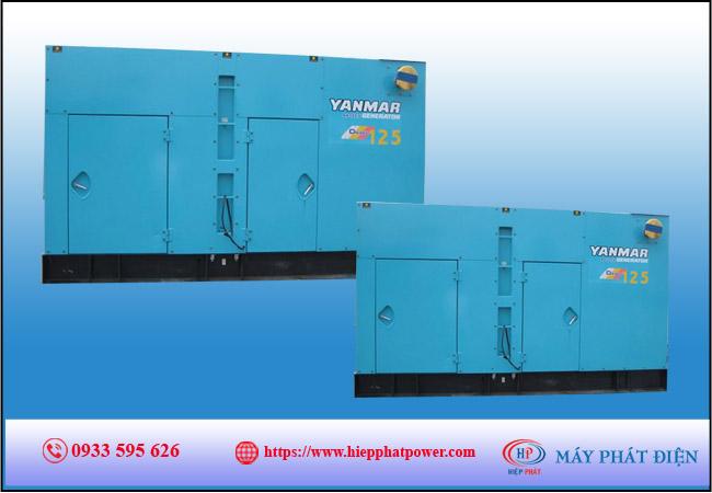 Máy phát điện Yanmar 125kva