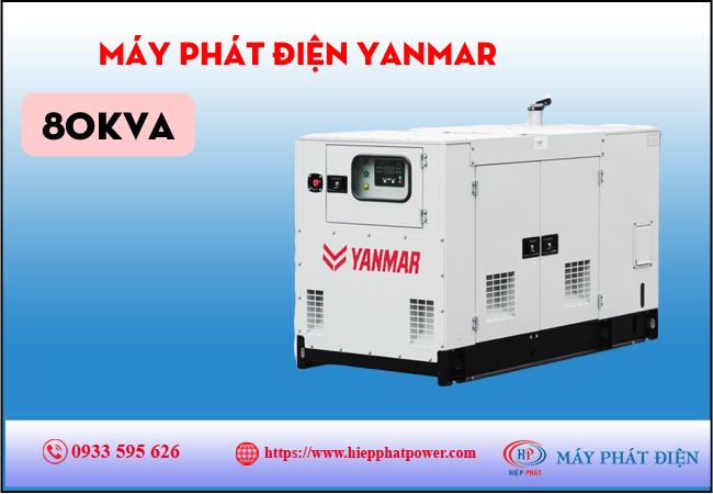 Máy phát điện Yanmar 80kva